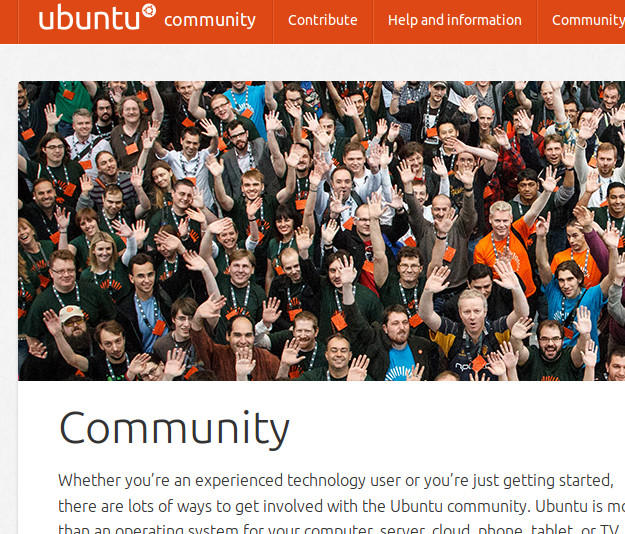 Our new community website: http://community.ubuntu.com/