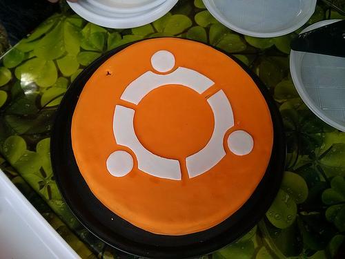Ubuntu cake